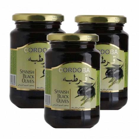 Cordoba Plain Olives Black 3X200 Gm