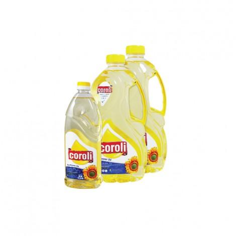 Coroli Sunflower Oil 2x1.8ltr +750ml Free