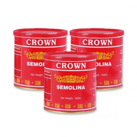 Crown Semolina 3 x 500gm