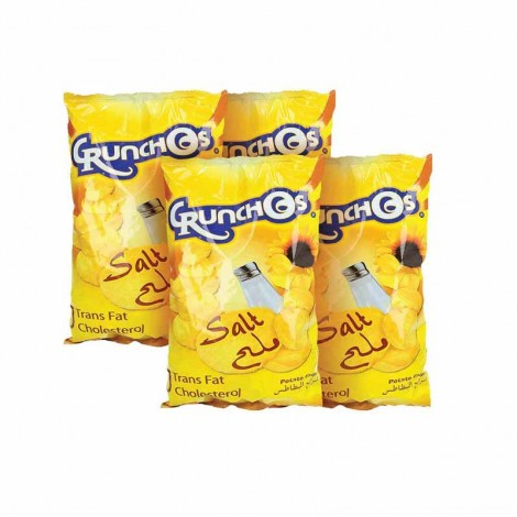 Crunchos Assorted Chips - 4x125gm
