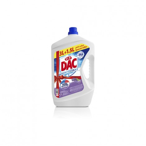 Dac Disinfectant Lavender - 4.5 Ltr
