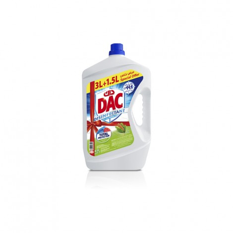 Dac Disinfectant Pine - 4.5 Ltr
