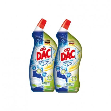 Dac Toilet Cleaner Lemonette Power - 2x750ml