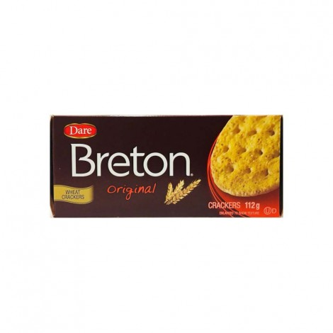 DARE BRETON ORIGINAL CRACKERS 112g
