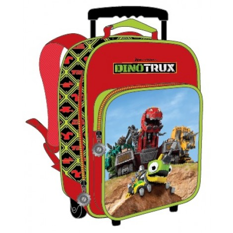 "Dino Trux School Bag 12"" Trolley DN01-1010"