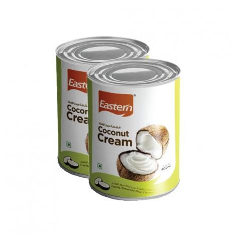 Eastern Coconut Cream, 2x400ml