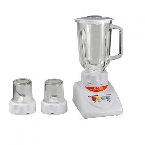 Elekta 1.5L Glass Jar Blender With 2 Grinder EFBG-1552(GL)