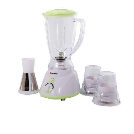 Elekta 1.5L Plastic Jar Blender With 2 Grinder And Filter EFBG-1584