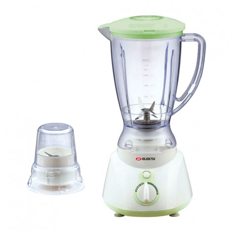 Elekta 1.5L Plastic Jar Blender With 1 Grinder EFBG1586