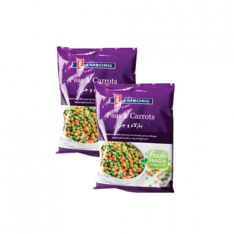 Emborg Frozen Peas&Carrots 2X900gm