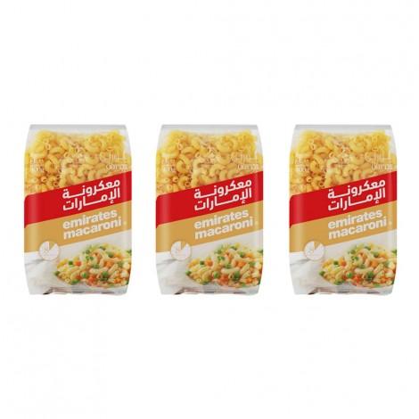 Emirates Macaroni Corni 3X400gm