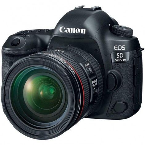 Canon EOS 5D Mark IV DSLR Camera EF 24-70mm f/4L IS USM Kit