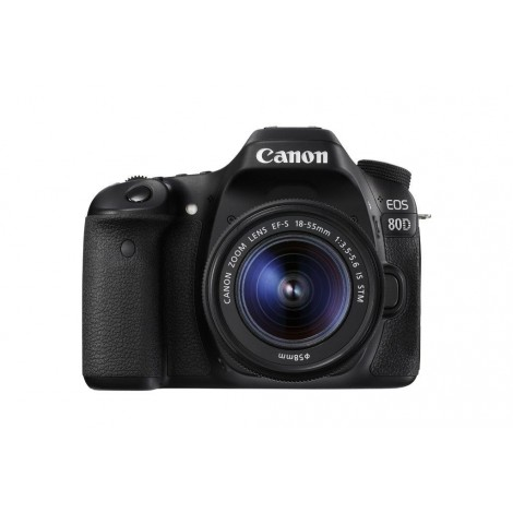Canon EOS 80D 24.2MP DSLR Camera with 18-55mm Lens