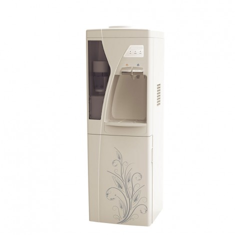 Elekta Hot & Cold Water Dispenser With Refrigerator And Cup Storage EWD-623RC