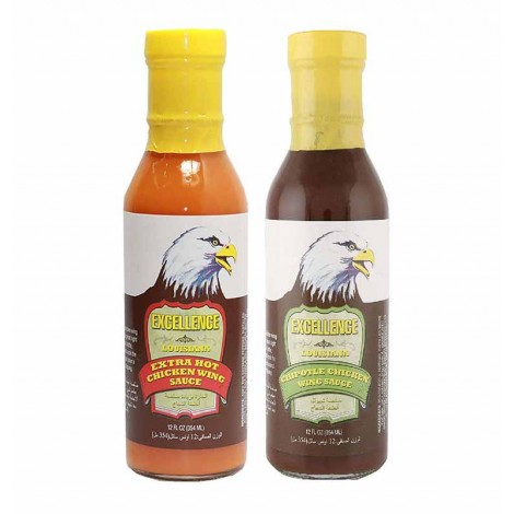 Excellence Hot Sauce Assorted 2x12 Oz