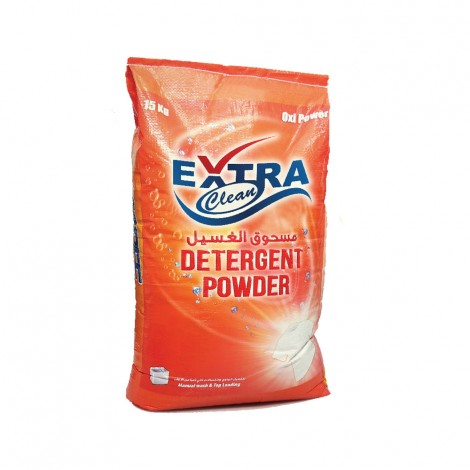 Extra Clean Detergent Powder, 15kg