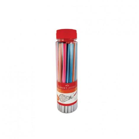 Faber Castell 30 Trenz Pencils In Plastic Jar