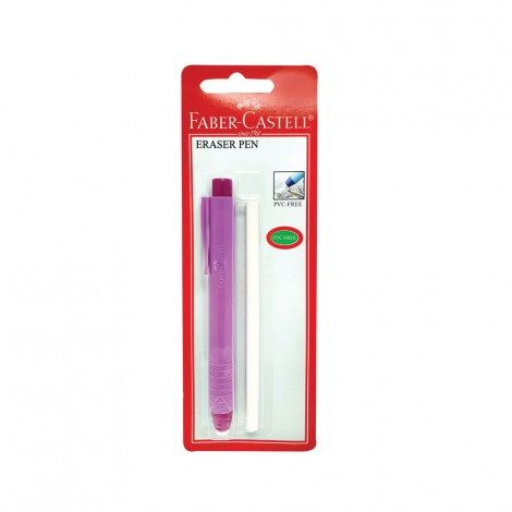Faber Castell Earser Pen Pf Color In Blister 1Pc+1Refill