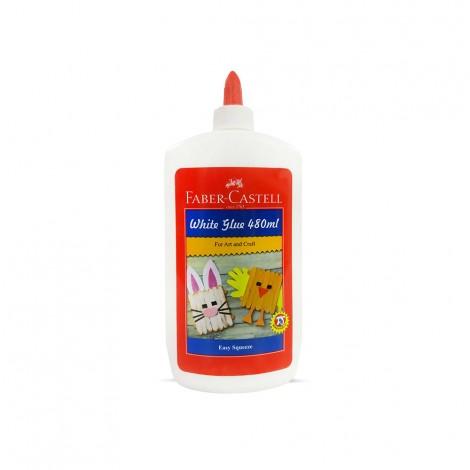 Faber Castell White Glue With Dispenser - 480ml
