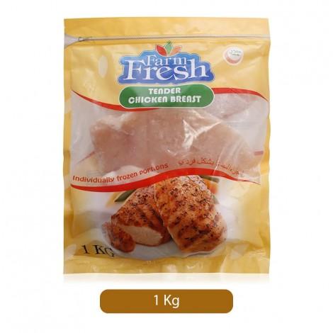 Farm Fresh Tender Chicken Breast - 1 Kg