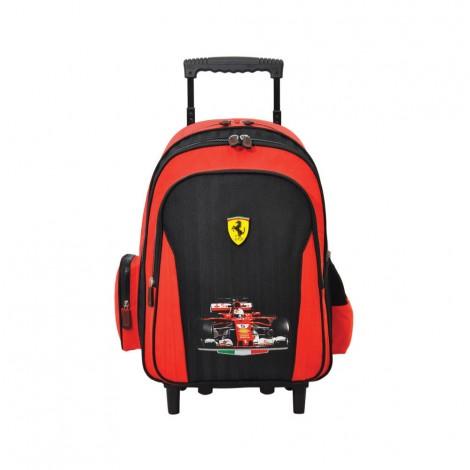 "Ferrari Twin Turbo Trolley Bag 18"""