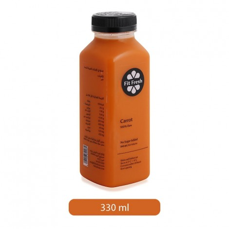 Fit Fresh Carrot Juice - 330 ml