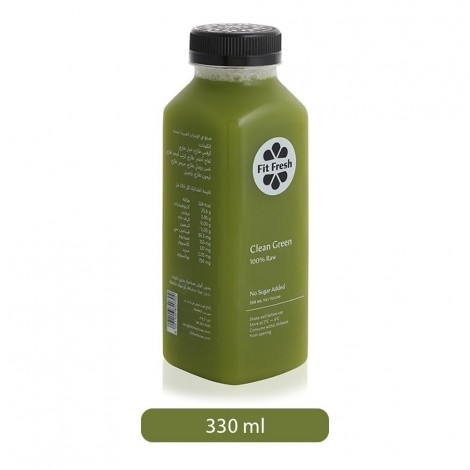 Fit Fresh Clean Green Juice - 330 ml