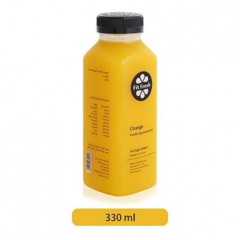 Fit Fresh Orange Juice - 330 ml