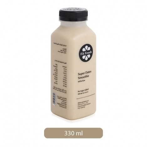 Fit Fresh Super Dates Smoothie - 330 ml