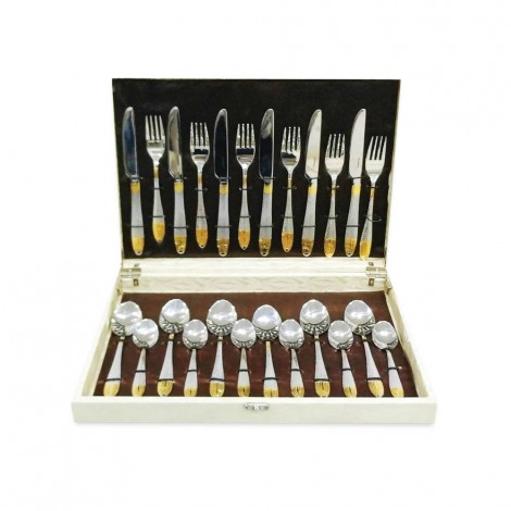 Fns 24Pcs Spoons Fork & Knifes Box