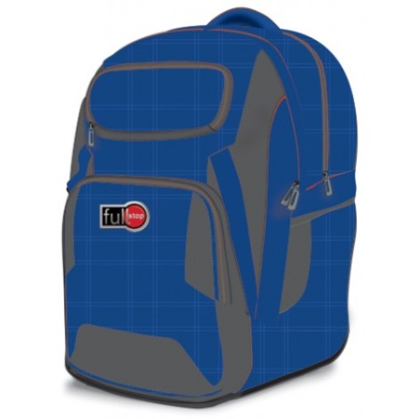 Full Stop (2092) School Bag Color Blue BP 2 FCBB-1066-B16