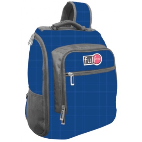 "Full Stop (2108) School Bag 17"" Color Blue One Hand BackPack"