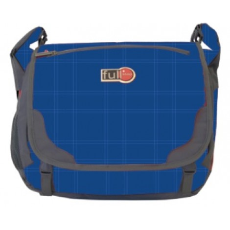 Full Stop (2122) School Bag Color Blue Messenger FCBM-711-B1