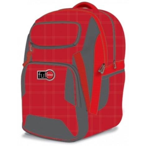 Full Stop (2030) School Bag Color Red BP 2 FCBB-1066-C16