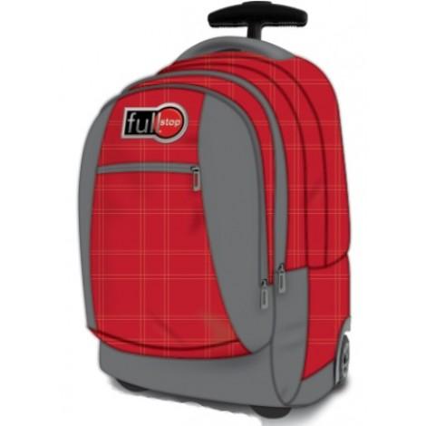 Full Stop (2054) School Bag Color Red OH Trol FCBT-1065-C16