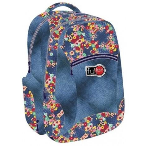 """Full Stop (0500) School Bag 18"""" Printed A BackPack  FFBB-601"""