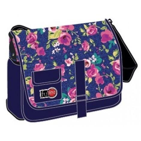 Full Stop (2825) School Bag Printed C Messenger FFBM-606-E16