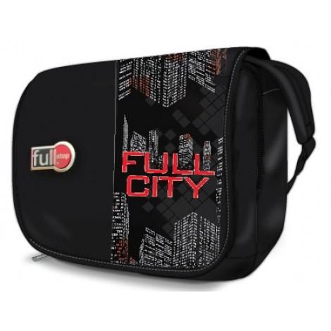Full Stop (7500) School Bag Full City Messenger FHBM-702-C16