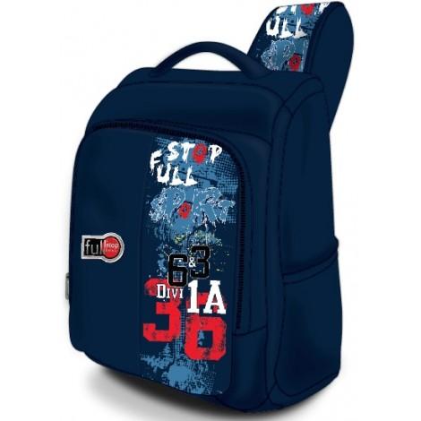 "Full Stop (7388) School Bag 17"" Sport Time BP FHBB-509-A16"