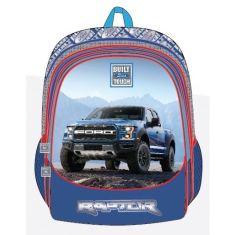 "Ford Truck School Bag 17.5"" BP Front Pocket FT01-1133B"