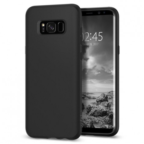Spigen Case Liq.Crystl Black For Galaxy S8+