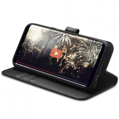 Spigen Wallet Case Black For Galaxy S8