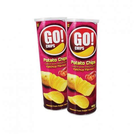 Go chips Assorted Potato Chips 2x160gm