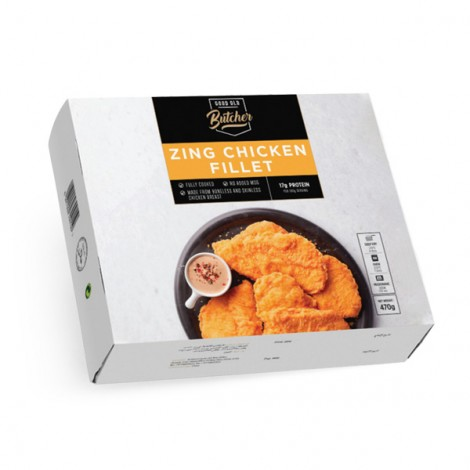 Good Old Butcher Zing Chicken Fillet - 1x470 gm