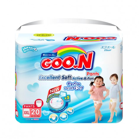 Goon Diapers Xxl Size6 - 15-25kg