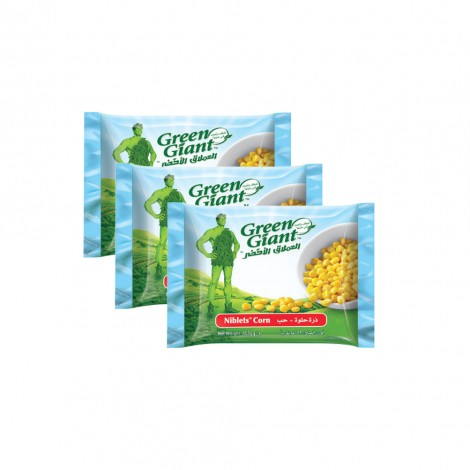 Green Giant Frozen Corn Niblets 3x450 gm