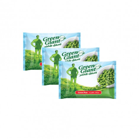 Green Giant Garden Peas 3x450gm