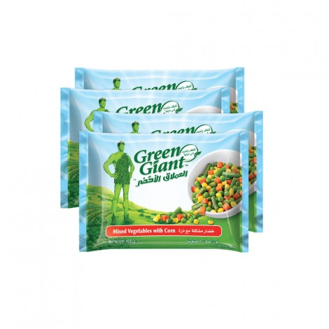 Green Giant Mixed Vegtables With Corn 4X450gm