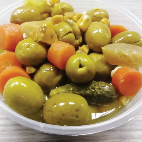Green Olives French Mix Per Kg