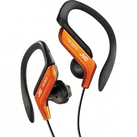 JVC Sports Ear-Clip Headphones, Orange